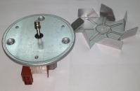 COOKER MOTOR + FAN GENERAL COMPLETE LONG SHAFT 2cm ORIGINAL ITAL